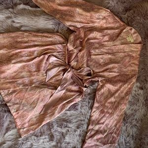 Lavender paisley print Jones New York robe